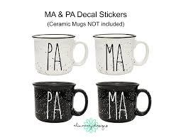 Amazon Com Elimaerey Designs Pa Ma Sticker Decals Cup Car Window Laptop Tumbler Etc Handmade
