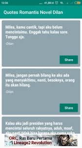 novel dilan for android