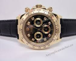 replica rolex daytona watch gold