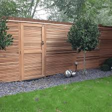 cedar wood fencing modern fencing