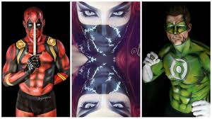 the superheroes of makeup art the
