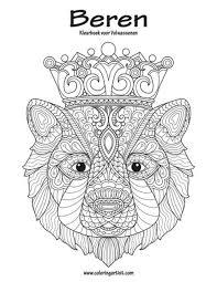 Beren Kleurboek Voor Volwassenen 1 By Nick Snels Paperback
