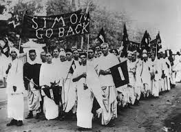 """Indian History Pics on Twitter: """"""""Simon Go Back"""" , protests ..."""
