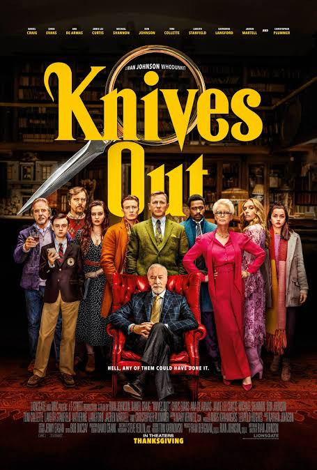 Quick Review: Knives Out Has A Delicious Cast But With A Weak Stabbing Twist