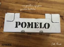 Srta Pomelo: #1 #Diogeneras: DIY caja reciclada.