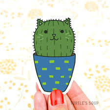 Barrel Cactus Cat Sticker Vinyl Decal Southwestern Plant Mom Cat Mom Mothers Day Gardening Sticker Tumbler Decal Desert Sticker Mother S Day Blog Transfermyauto Com