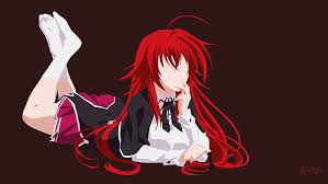 anime high dxd rias gremory