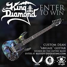 "Enter to win a custom King Diamond ""Abigail"" guitar   Metal Blade Records"