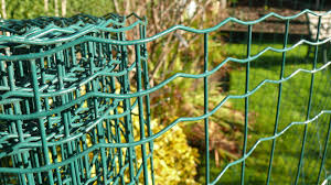 Green Pvc Weld Mesh Fencing Garden Fence 1mx25m 2 2 1 7mm
