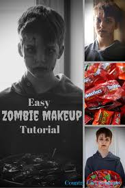 easy zombie makeup tutorial my hot
