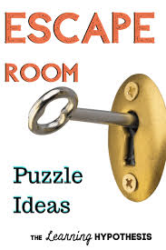 Escape Room Puzzle Ideas For Your Escape Room For Kids