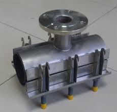 China Stainless Steel Repair Under Pressure Saddle Tee Pipe Fittings China Under Pressure Saddle Tee Saddle Clamp