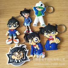 Nhật Bản Anime Thám Tử Lừng Danh Conan PVC Móc Khóa Jimmy Kudo ...