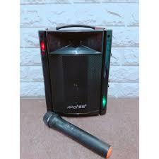 Loa di động mini AMOI 830A Loa kéo mini karaoke bluetooth kèm ...