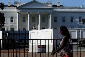 White House Replacing Fence With One Twice As High United States News Top Stories The Straits Times