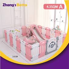 Hot Sale Baby Safety Products Baby Playpen Plastic Indoor Children Play Fence Baby Play Yard Buy Play Yard Fencing Factory For Canada Plastic Baby Play Yard Fence Distributors For Indonesia Play