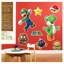 Super Mario Party Wall Decal Target