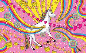 rainbow unicorn wallpaper unicorns