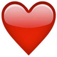 Bildresultat för fyllt hjärta emoji