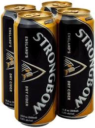 strongbow england s dry cider 4 ea