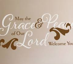 May The Grace Peace Wall Decal