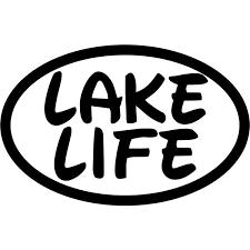 Lake Life Decal Sticker Lake Life Decal