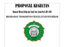 proposal kegiatan wisata religi dan