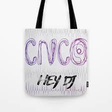 CNCO ~ HEY DJ Tote Bag by salymar ...