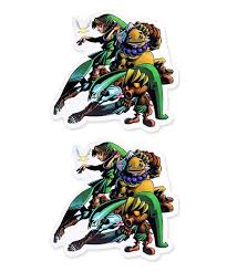 Just Funky Legend Of Zelda Majoras Mask Decal Set Of Two Best Price And Reviews Zulily