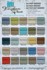 farmhouse paint color chart single