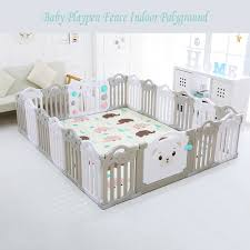 Baby Playpen Fence Indoor Palyground Park Kids Safe Guardrail Baby Game Crawling Fence Baby Play Yard 18 Pieces Set Baby Playpens Aliexpress