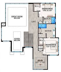 house plan 75977 modern style with