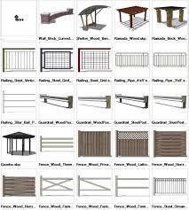 Sketchup Landscape 3d Models Download Cad Design Free Cad Blocks Drawings Details