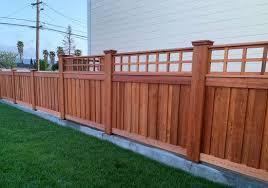 Custom Western Red Cedar Fence Cedar Fence Cedar Wood Fence Good Neighbor Fence