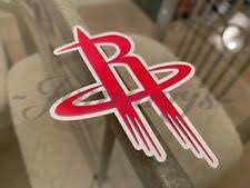 Houston Rockets Fan Decals For Sale Ebay