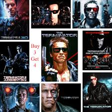 The Terminator Posters Movie Wall Stickers White Coated Paper Prints High Definition Home Decoration Livingroom Bedroom Wall Stickers Aliexpress
