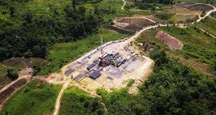 confirms substantial liquids rich gas
