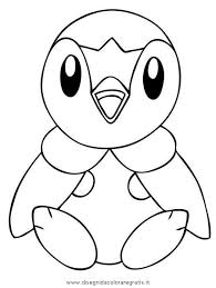 Pokemon Piplup Coloring Pages At Getdrawings Free Download