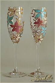 creative ideas of wine glass painting