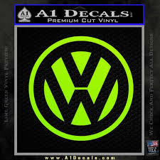 Vw Volkswagen Logo Decal Sticker A1 Decals
