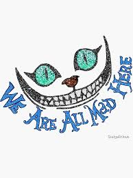 Cheshire Cat Stickers Redbubble