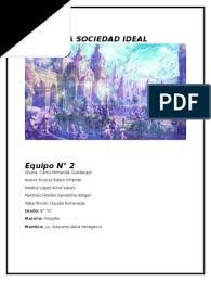 La Sociedad Ideal | utopía | Igualitarismo