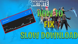 Fortnite How to Fix Slow Download - YouTube