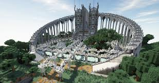 I rebuilt the Elysium castle : Minecraft