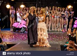 """Zoe Price Smith and Sylvie and Rafael van der Vaart at the """"Girls on Stock  Photo - Alamy"""