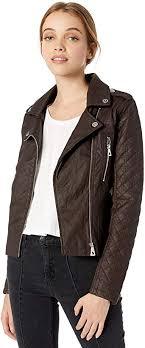 juniors faux leather moto jacket