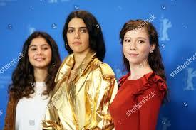 Actresses Helin Kandemir Cemre Ebuzziya Ece Yuksel Editorial Stock ...