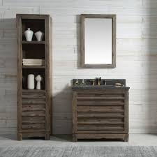 36 inch distressed wood bathroom vanity