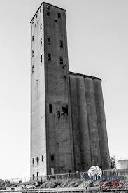 grain silo standing