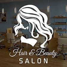 Woman Hair Beauty Salon Vinyl Window Sticker Decal Business Signs Beauty Salon Hair And Beauty Salon Beauty Room